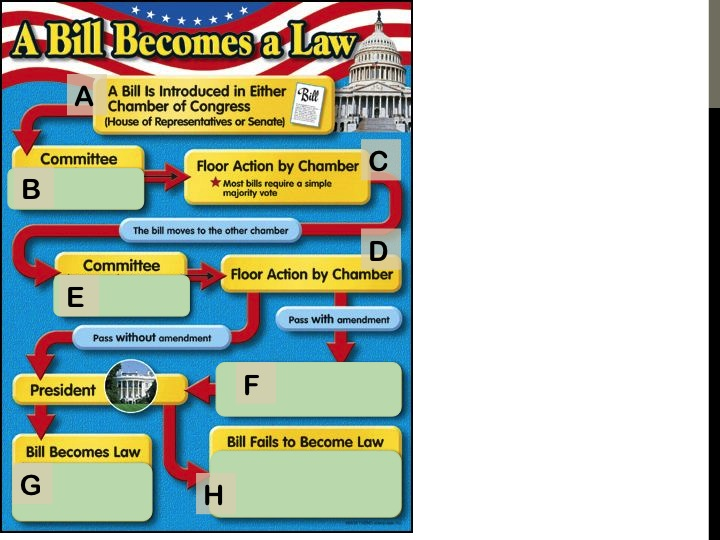 infographic how a bill becomes a law