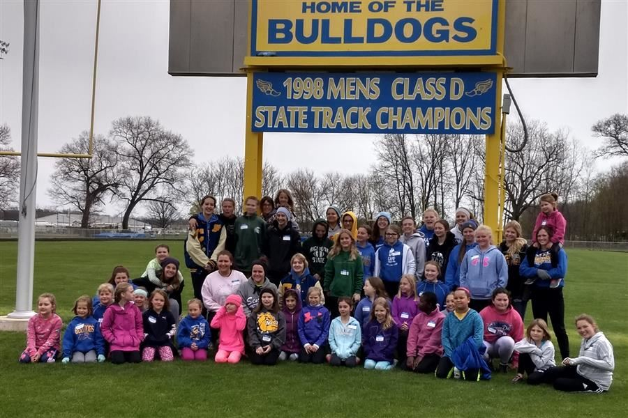 Little Spikes Girls Track Clinic