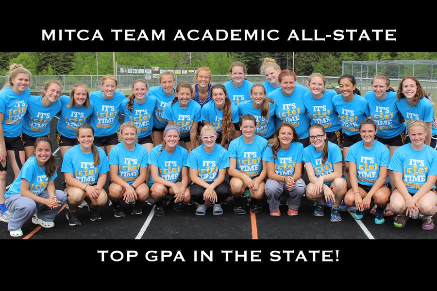 Girls' Track Team Claims Top Spot for MITCA Academic All-State
