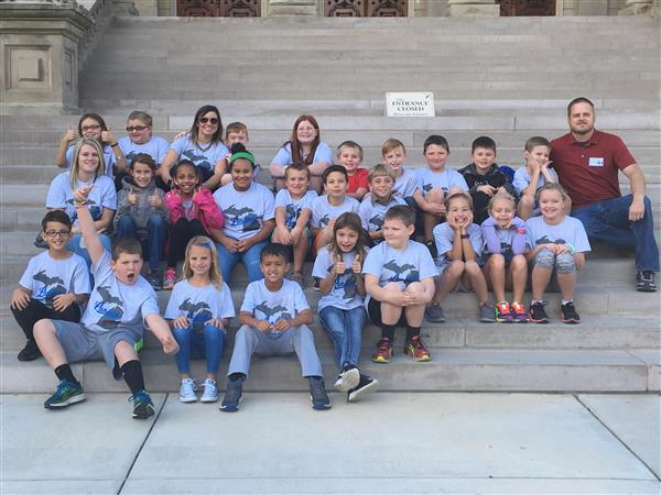 Fourth Graders Visit Capitol